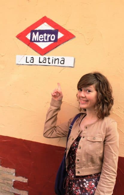 La Latina--one of the barrios of Madrid