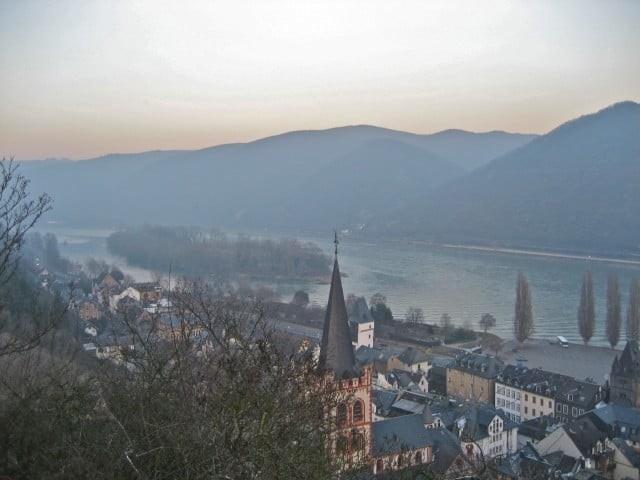 bacharach germany castle hostel