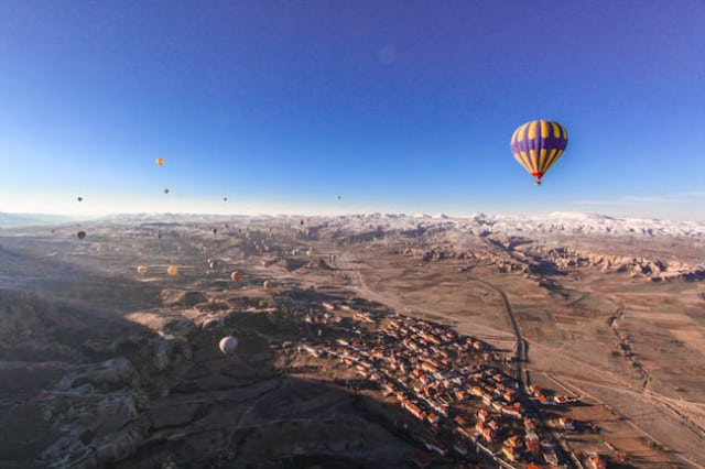 hot air balloon cappadocia