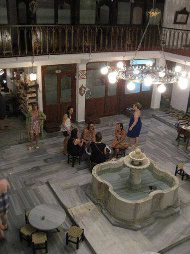 nude female turkish bath