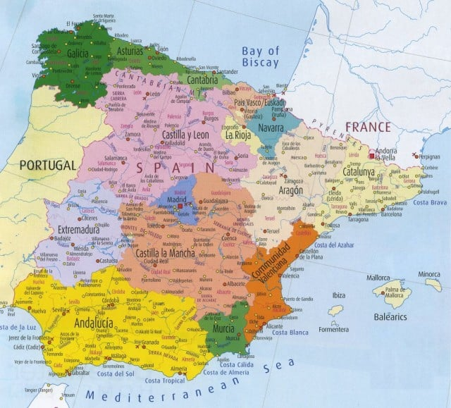 North Of Spain Map.Stop Overlooking La Rioja Spain Young Adventuress