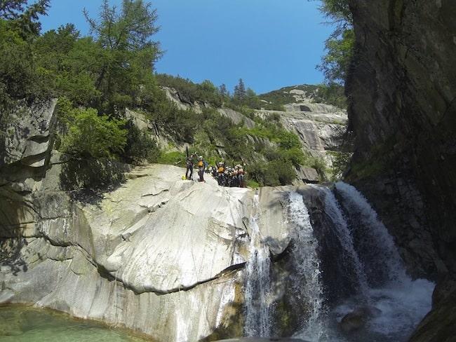 canyoning interlaken switzerland