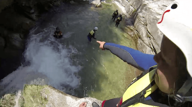 canyoning interlaken switzerland