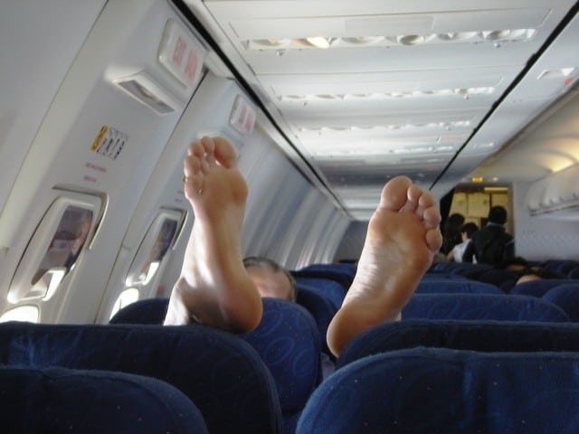 annoying people on airplanes