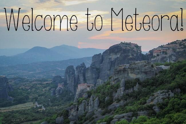 visit meteora greece