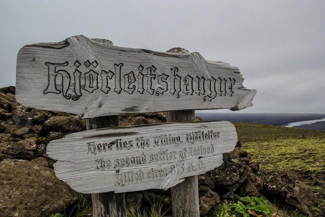 hjorleifshofdi iceland