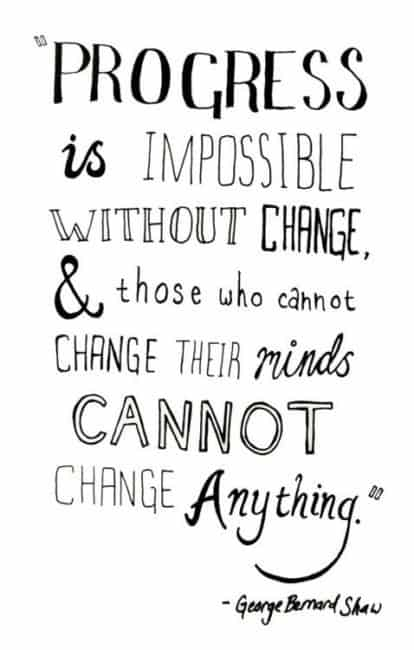 reasons to embrace change