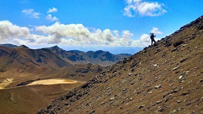 tongariro crossing mt doom