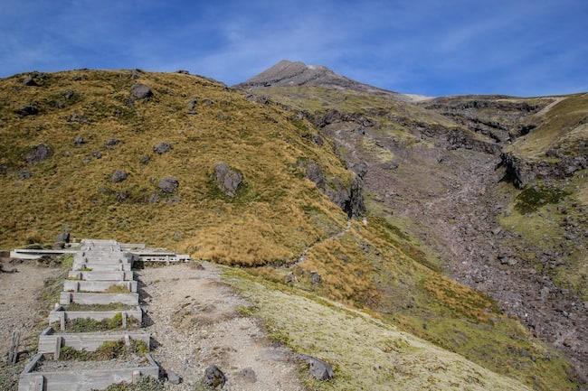 climb taranaki