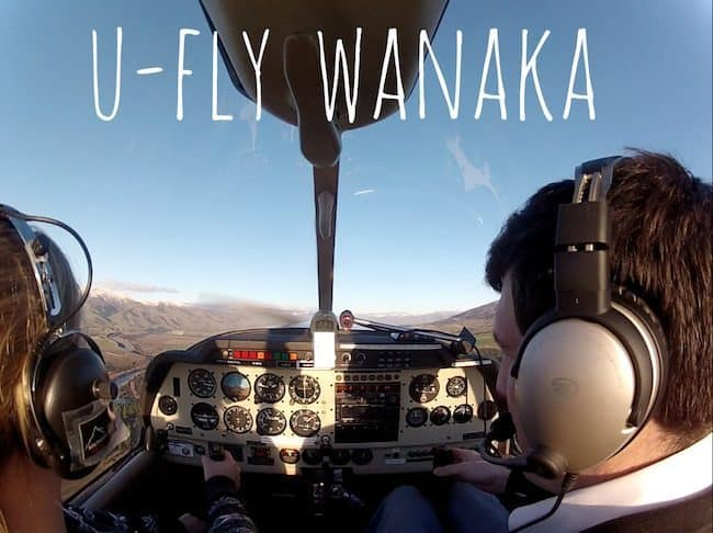 flying wanaka new zealand