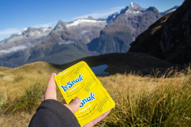 hiking Routeburn Track
