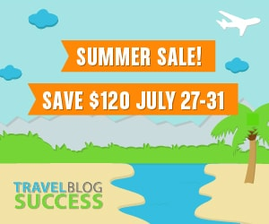 Travel Blog Success - Summer Sale 2015
