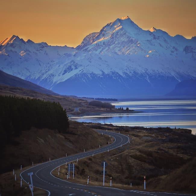 Mt. Cook New Zealand views