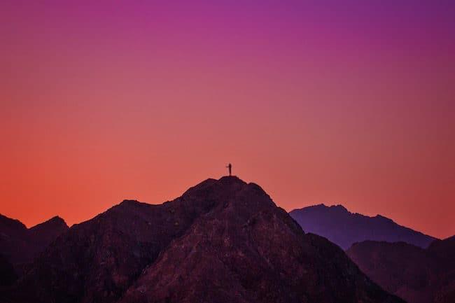 dubai mountains