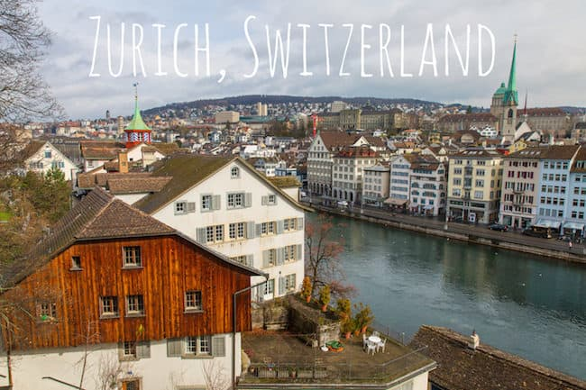 Visit Zurich Switzerland