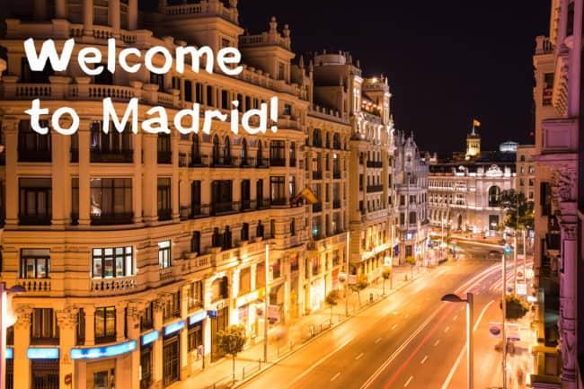 So, I really love Madrid