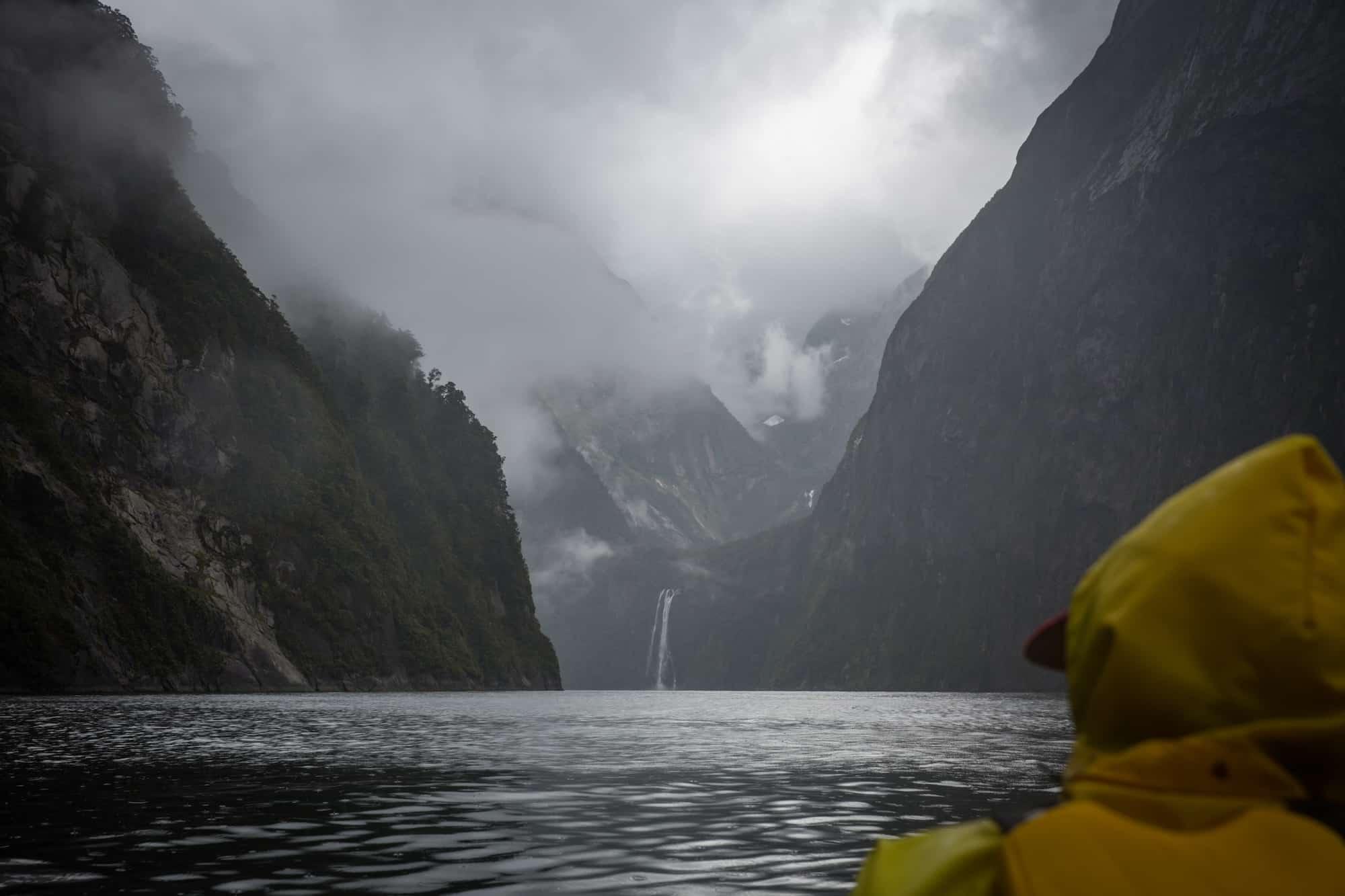kayak milford sound