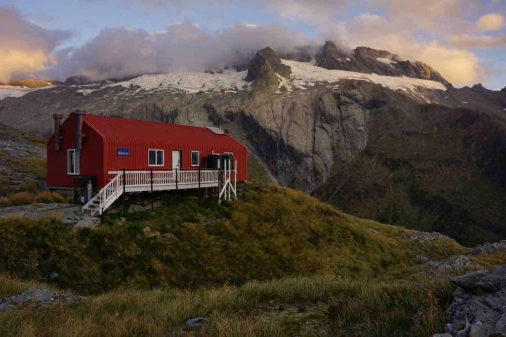 best huts South Island