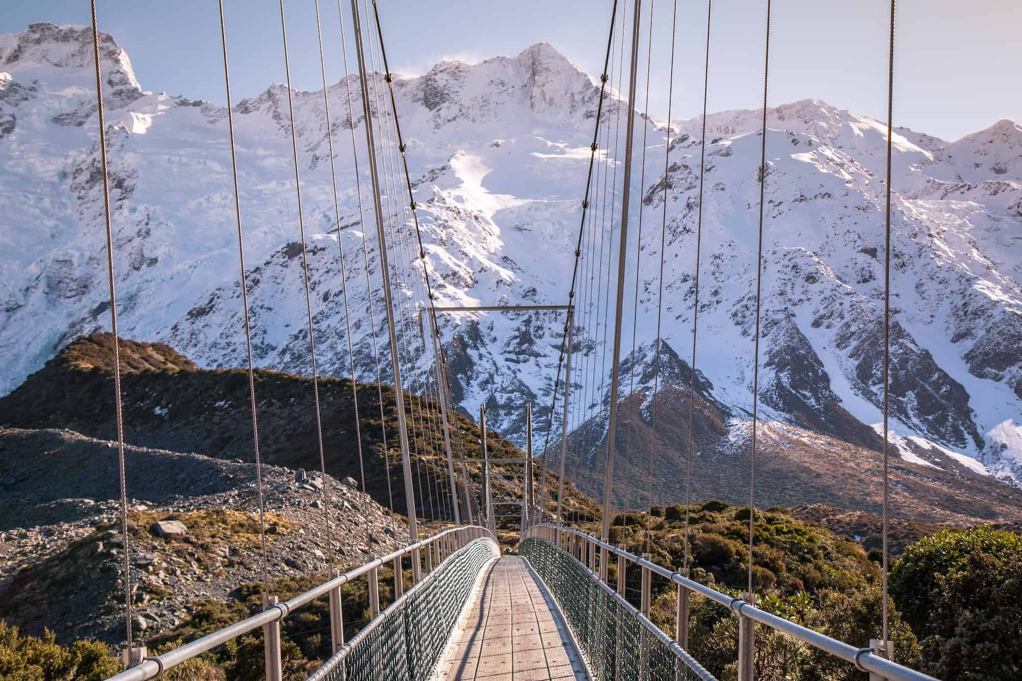 day hikes new zealand