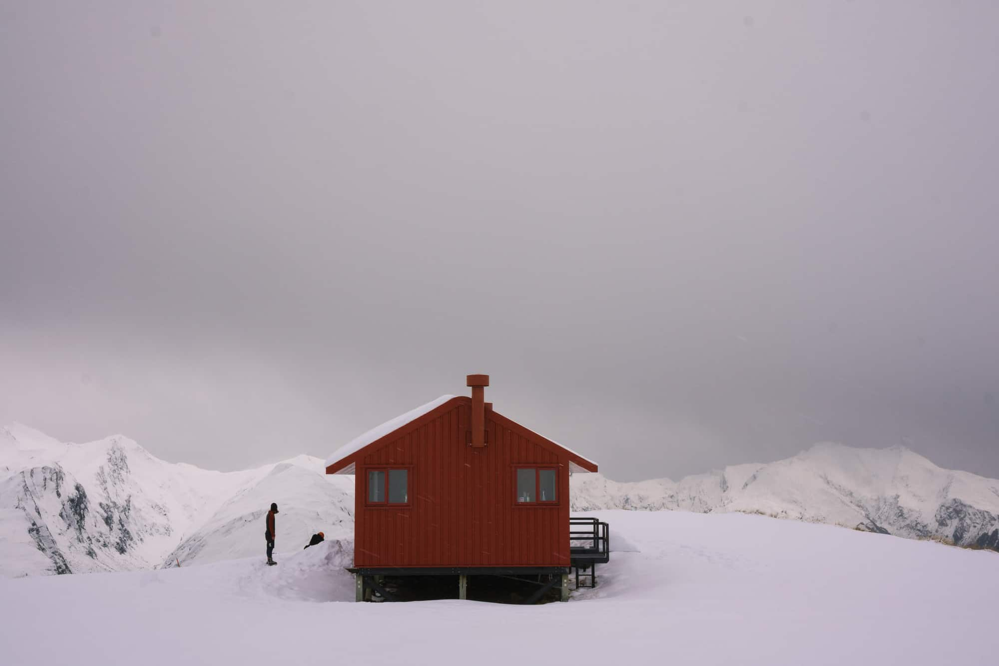 brewster hut winter