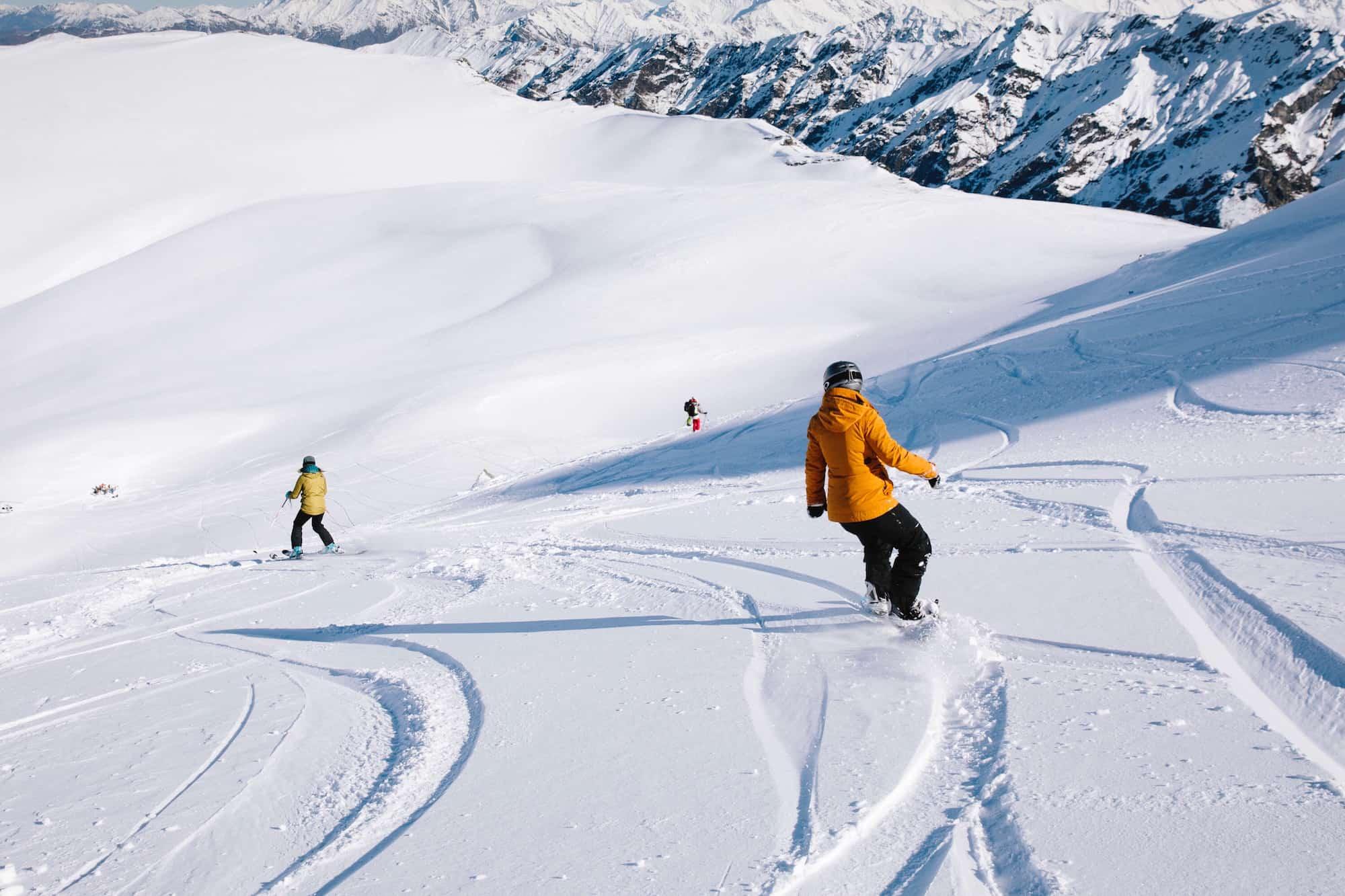 heli ski wanaka