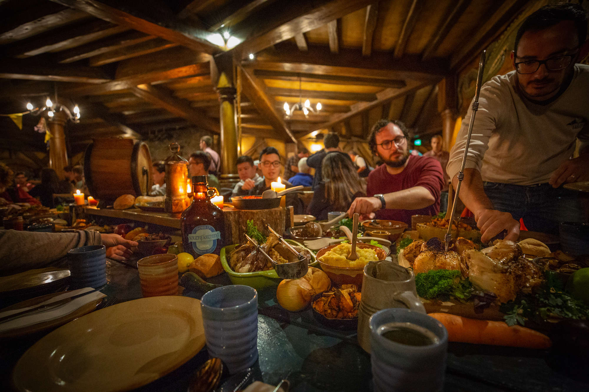 evening banquet hobbiton