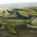 Roads through Iceland