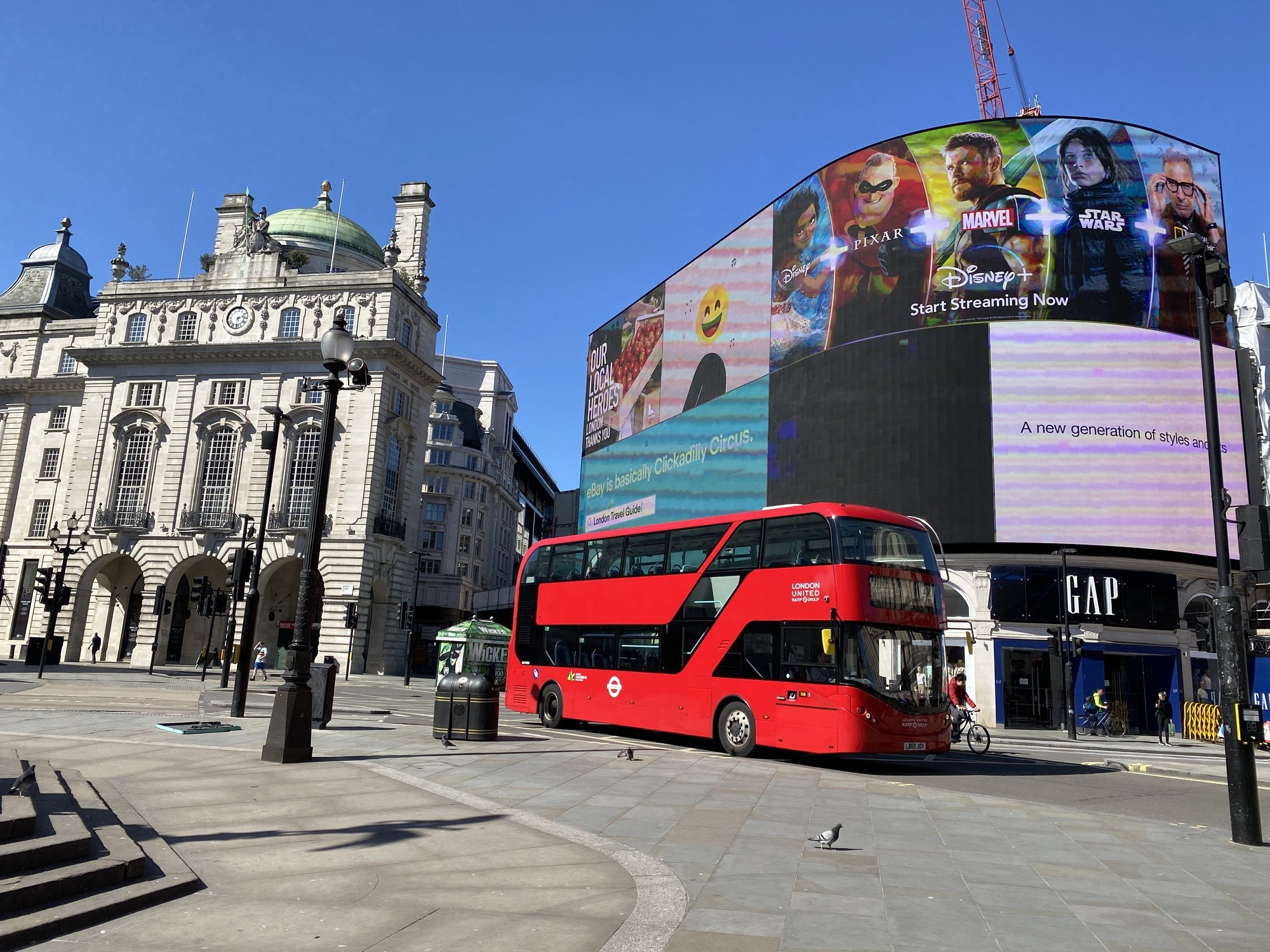 lockdown in London