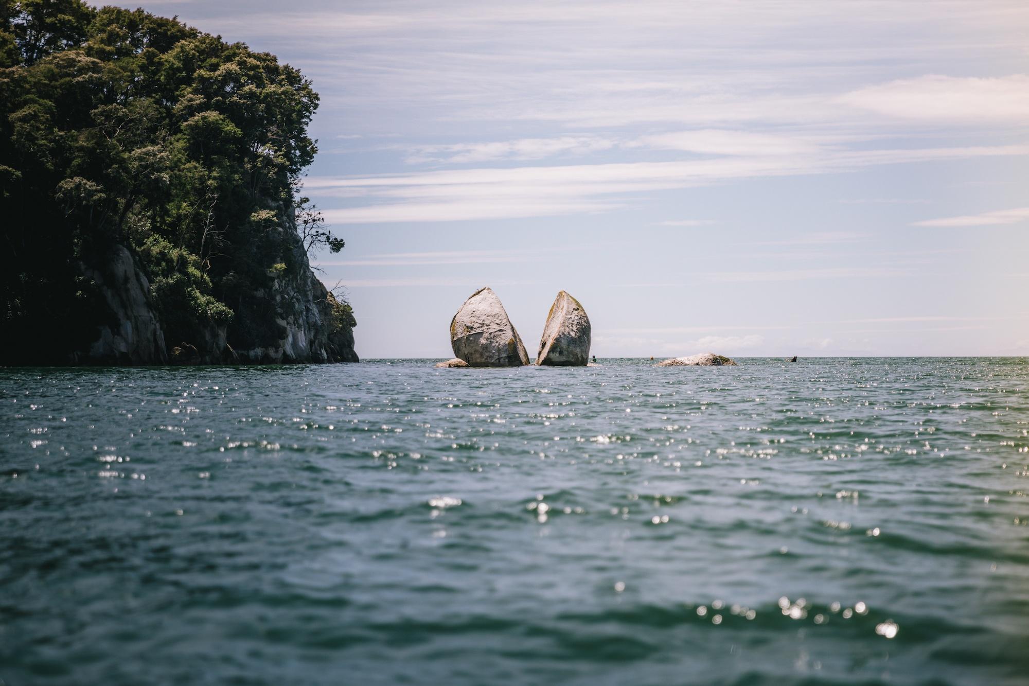 sustainable travel in the Abel Tasman